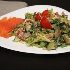 фото рецепта Салат из авокадо и рукколы