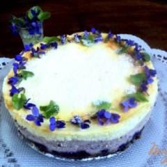 Сырник с черникой «Фиалки»