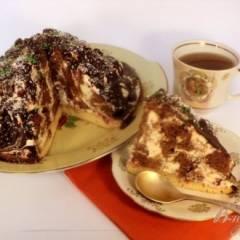 Торт «Кучерявый пинчер» (мой вариант)