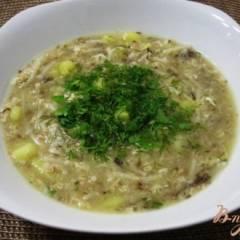 Быстрый рыбный суп с вермишелью