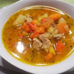 фото рецепта Гуляш суп по-венгерски
