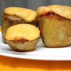 фото рецепта Фаршированный картофель