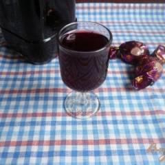 фото рецепта Настойка на вишневых косточках
