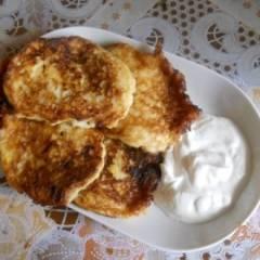 фото рецепта Оладьи из замороженного кабачка