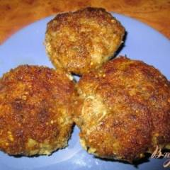 Котлеты из мясного фарша с картофелем