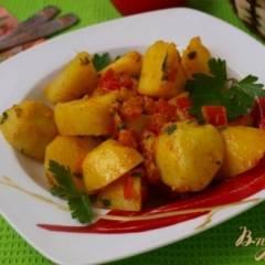 Картофель,приготовленный со специями