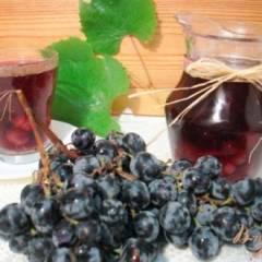 Компот из винограда  Изабелла