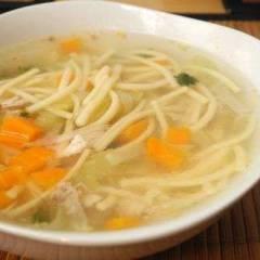 фото рецепта Куриный суп с вермишелью и овощами