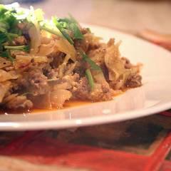 фото рецепта Тушеная капуста под соусом