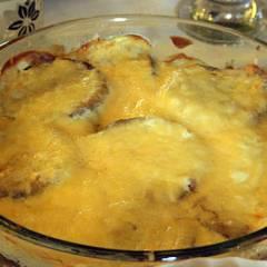 фото рецепта Пикантные баклажаны с сыром