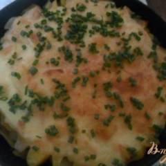 Запеченный картофель с мясом по - французки