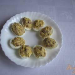 Салат закусочный с печенью трески