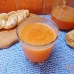 фото рецепта Морс яблочно-морковно-медовый