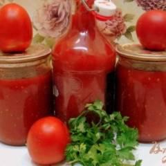 Томатный соус (заготовка на зиму)