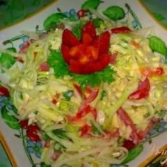 Салат с капустой и сыром