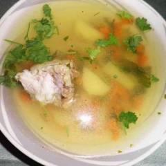 фото рецепта Уха из судака
