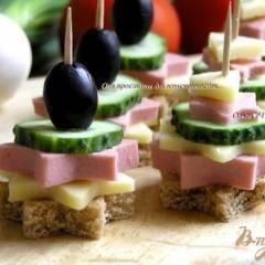 фото рецепта Канапе для пикника