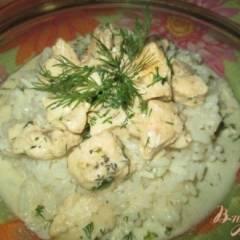 Маринованная курица в сметанном соусе