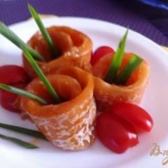 фото рецепта Слабосоленый лосось в вустерском соусе
