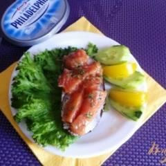 фото рецепта Слабосоленый лосось в имбирном маринаде
