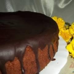 Медово-шоколадно-банановый торт