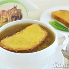 фото рецепта Луковый суп по-французски