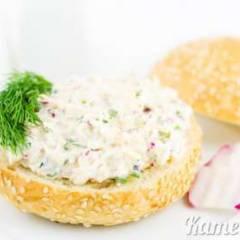 фото рецепта Закуска из редиса, сыра и яиц