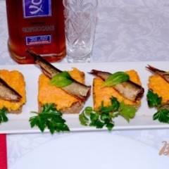 фото рецепта Тосты со шпротами