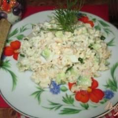 фото рецепта Салат с рисом и тунцом