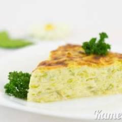 Запеканка из кабачков и плавленого сыра