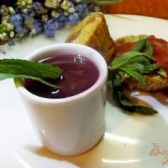 Мятно-вишневый соус для маффинов