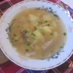 Ароматный гороховый суп