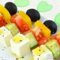 фото рецепта Закуска из овощей «Греция»