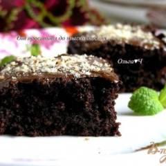 Свекольные брауни с черносливом