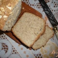 Овсяный хлеб на скорую руку