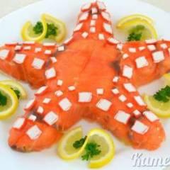 Салат «Морская звезда»