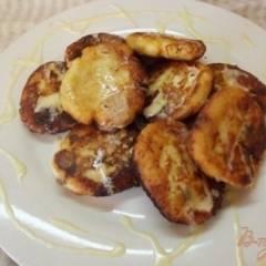 Сырники с ванильным соусом