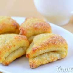 фото рецепта Творожное печенье «Ушки»