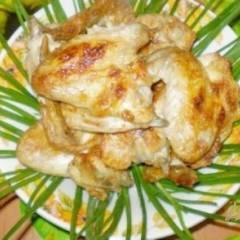 фото рецепта Шашлык куриный на кефире с чесноком