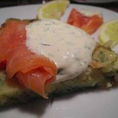 фото рецепта Картофель-рёшти с лососем