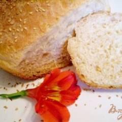 Хлеб на двух видах муки с паприкой и оливковым маслом