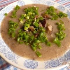 Суп-пюре из грибов и картофеля