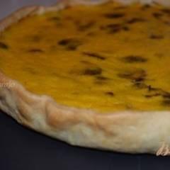 Пирог с тыквой и грибами