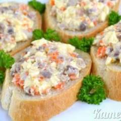 фото рецепта Закуска из селедки и плавленого сыра