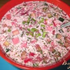 фото рецепта Свекольник - холодный суп