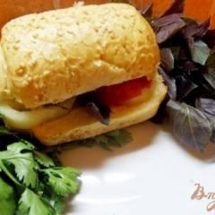 фото рецепта Кавказский сэндвич с бараниной