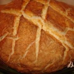 Хлеб для лентяйки в кастрюле (Содовый хлеб)