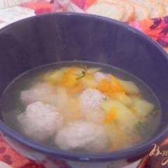 фото рецепта Суп с фрикадельками без зажарки