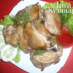 Куриные бедрышки в чайном маринаде