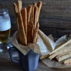 фото рецепта Сырное пикантное печенье к пиву